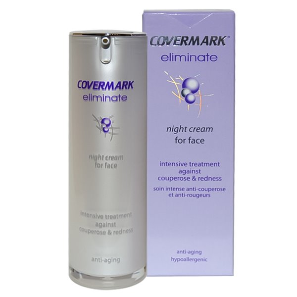 COVERMARK ELIMINATE NIGHT CREAM couperose e capillari