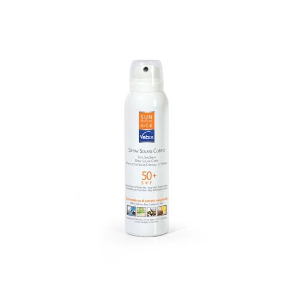 VEBIX SUN PROGRAM spray solare corpo 30 SPF
