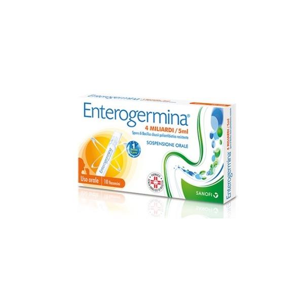 ENTEROGERMINA*OS 10FL 4MLD/5ML
