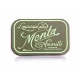 Amarelli Pure Licorice Candy Spezzata yellow tin box 1,4oz 40g