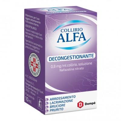 COLLIRIO ALFA*GTT 10ML0,8MG/ML
