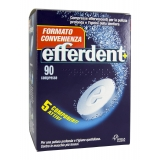 EFFERDENT PULIZIA DENTIERA 90 COMPRESSE EFFERVESCENTI