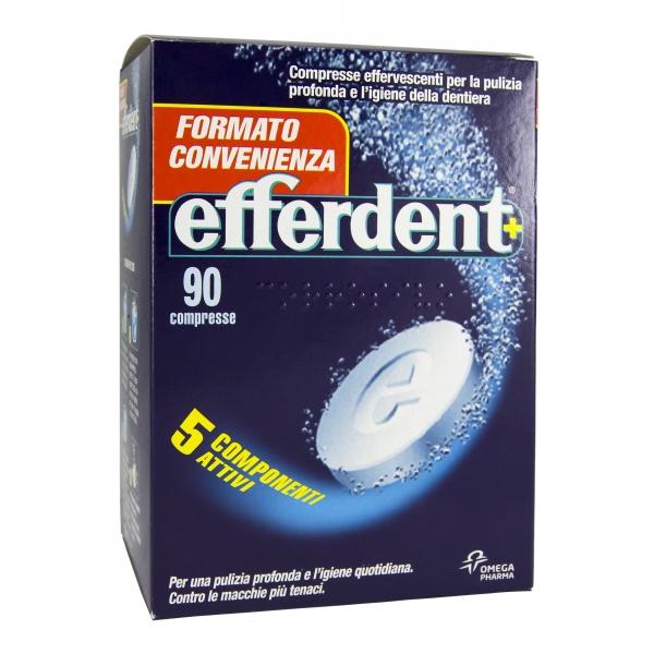 EFFERDENT+ pulizia dentiera