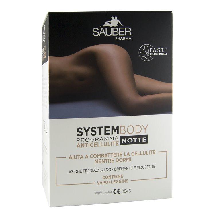 sauber system body programma anticellulite notte. Black Bedroom Furniture Sets. Home Design Ideas