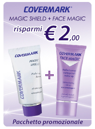 Covermark magic shield + face magic