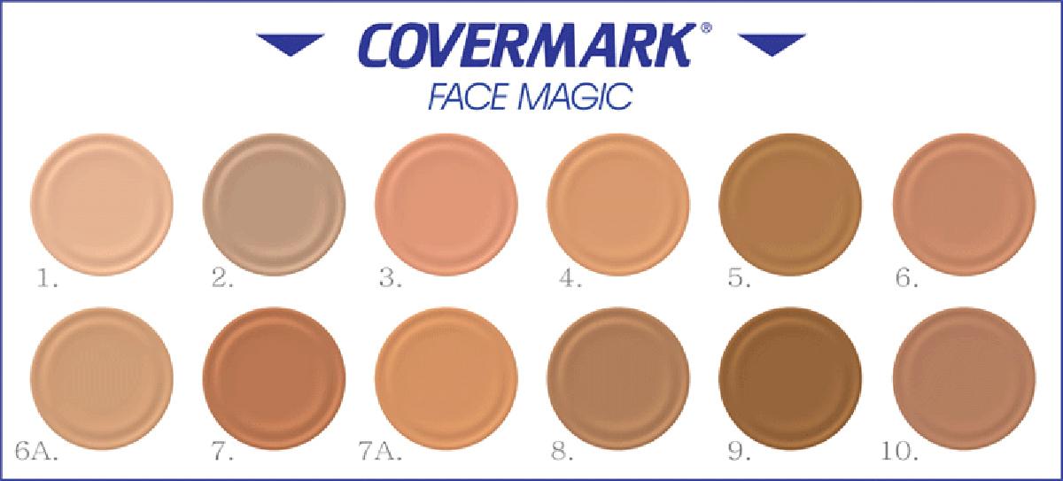 Covermark palette colori face magic